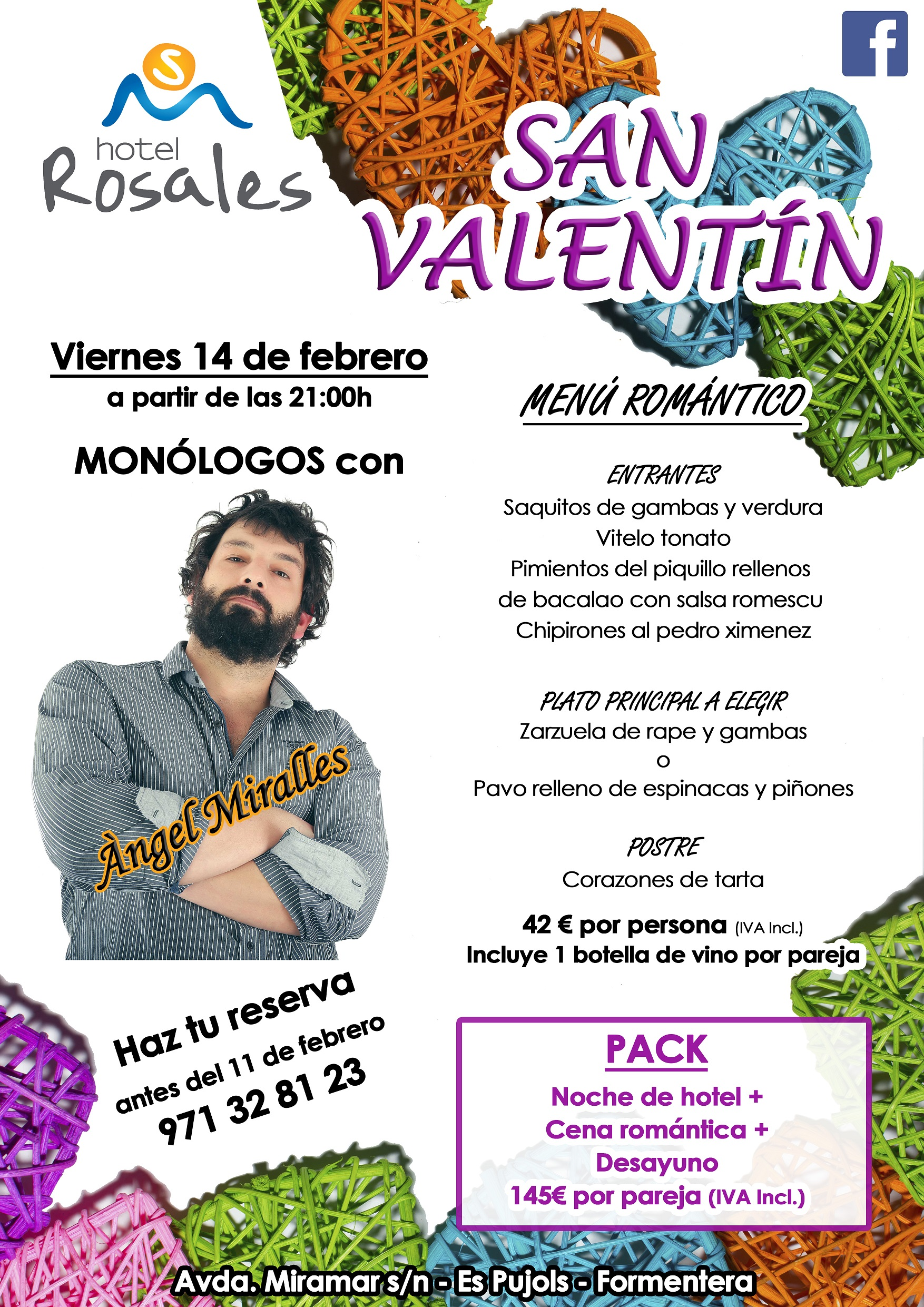 Celebrate Valentine's Day at Hotel Rosales